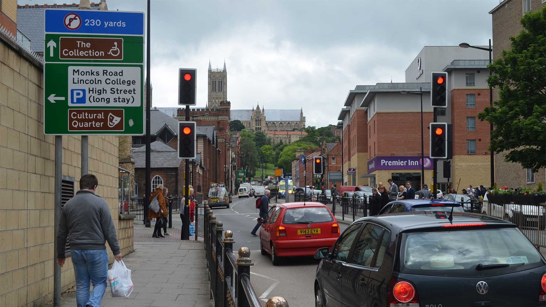 Overnight road closure set for broadgate in lincoln