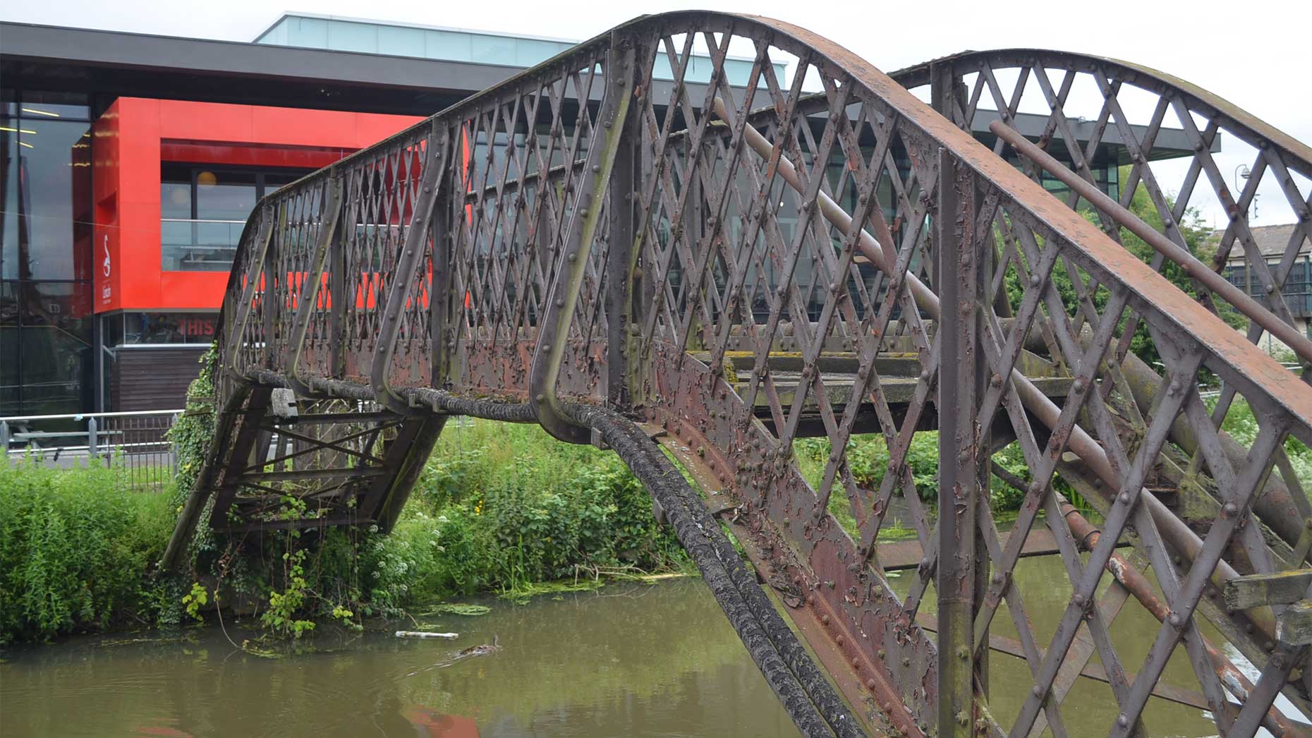 """The bridge has been described as """"beyond economic repair"""" by the University of Lincoln"""