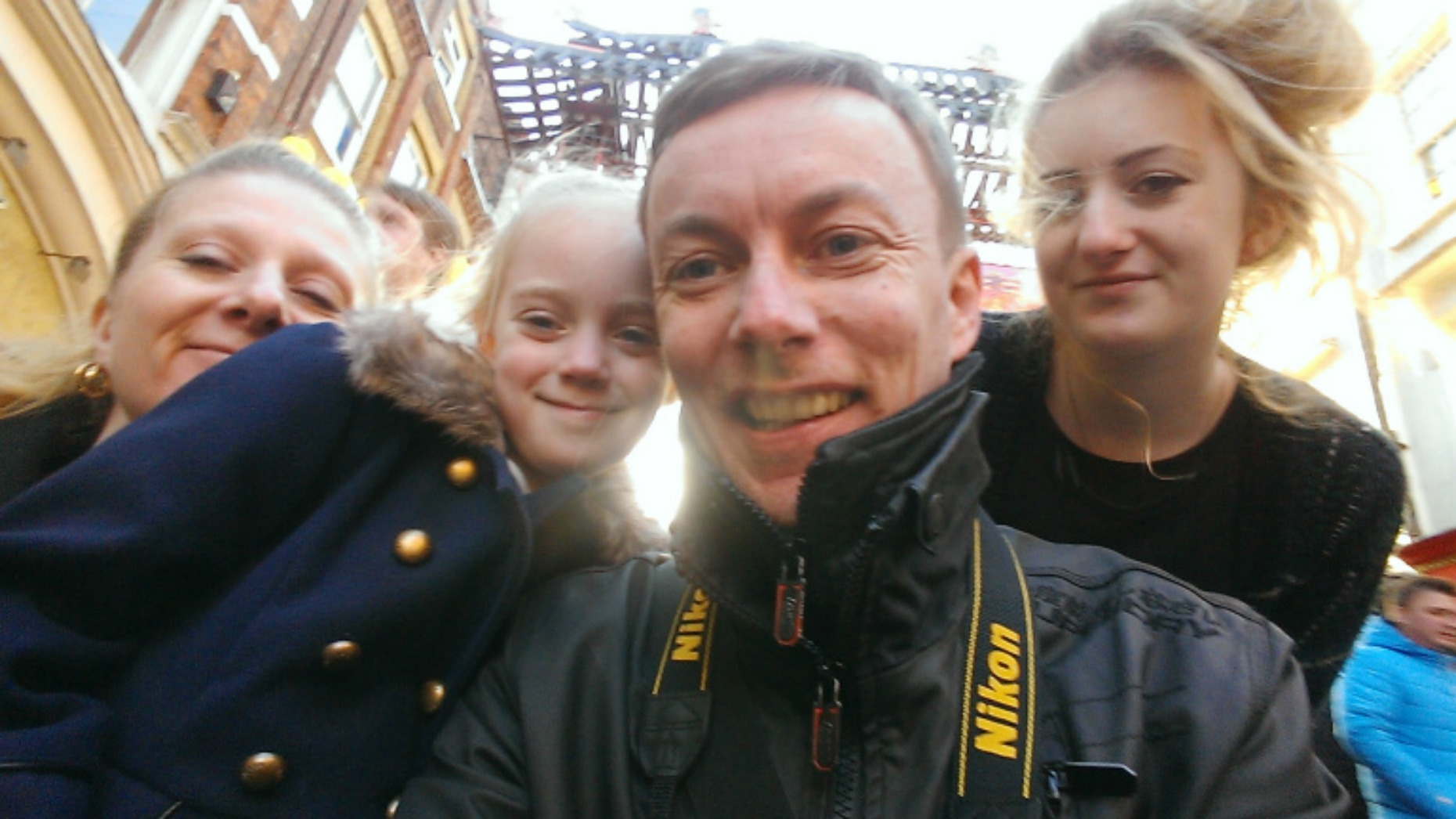 Paul lives in Lincoln with his wife, George and daughters Annie and Emily. Photo: Paul Crowdey Blog