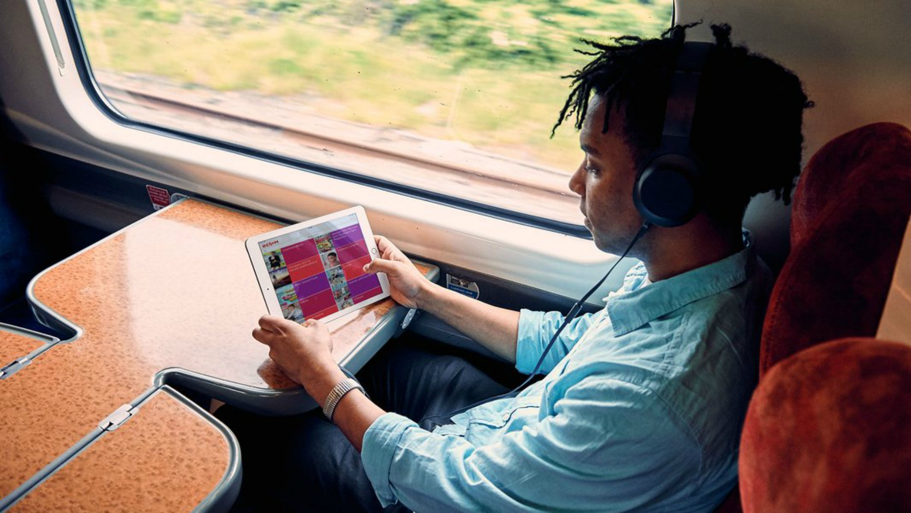 Train users will also benefit from the new Beam app Photo: Virgin Trains/ Press Association