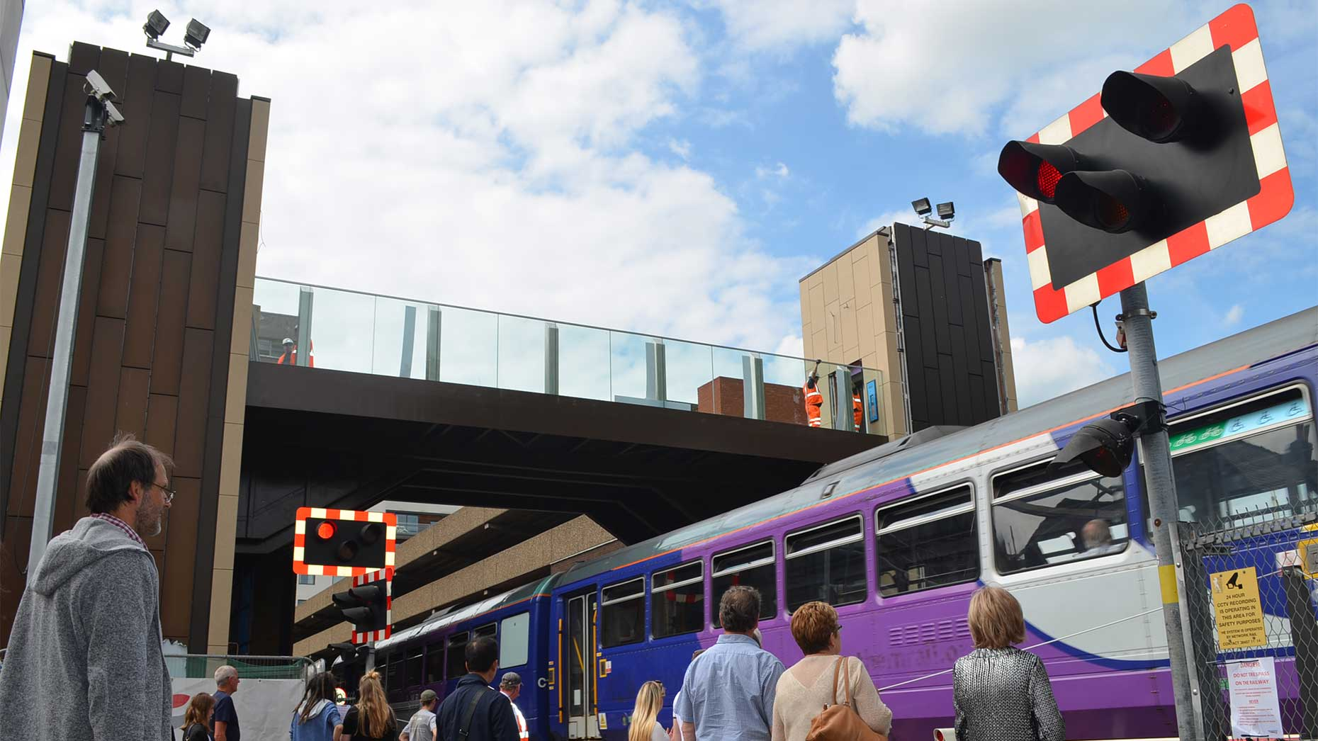 Lincoln High Street Footbridge To Finally Open This Week