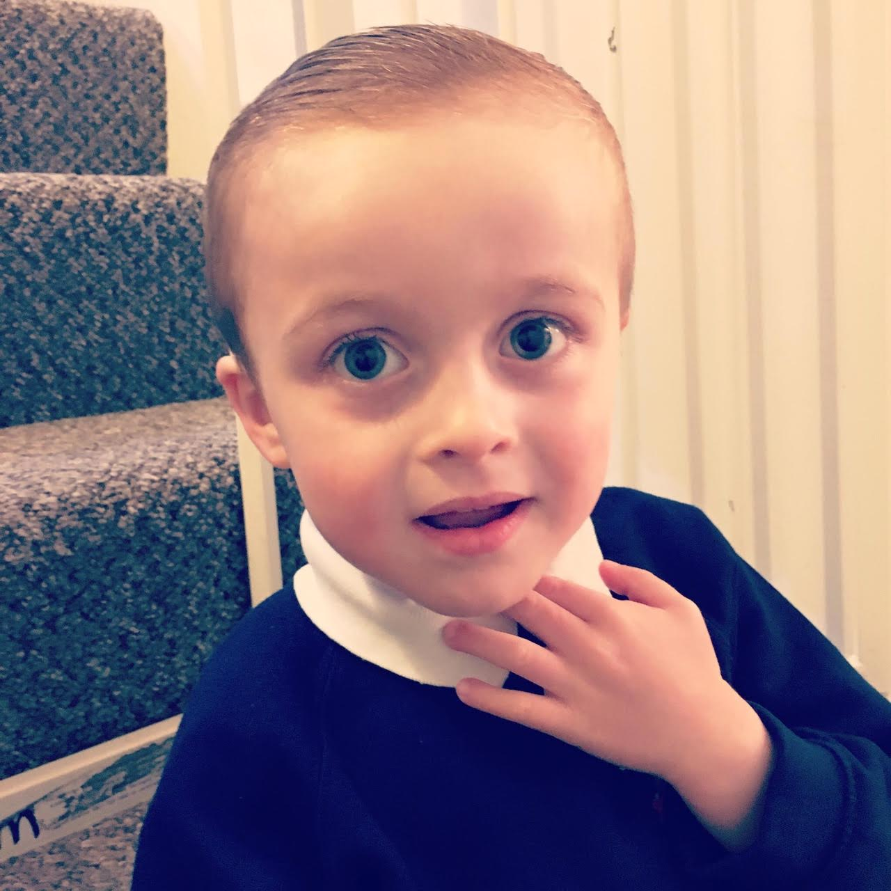Hugo was diagnosed with the condition just after he turned four years old.