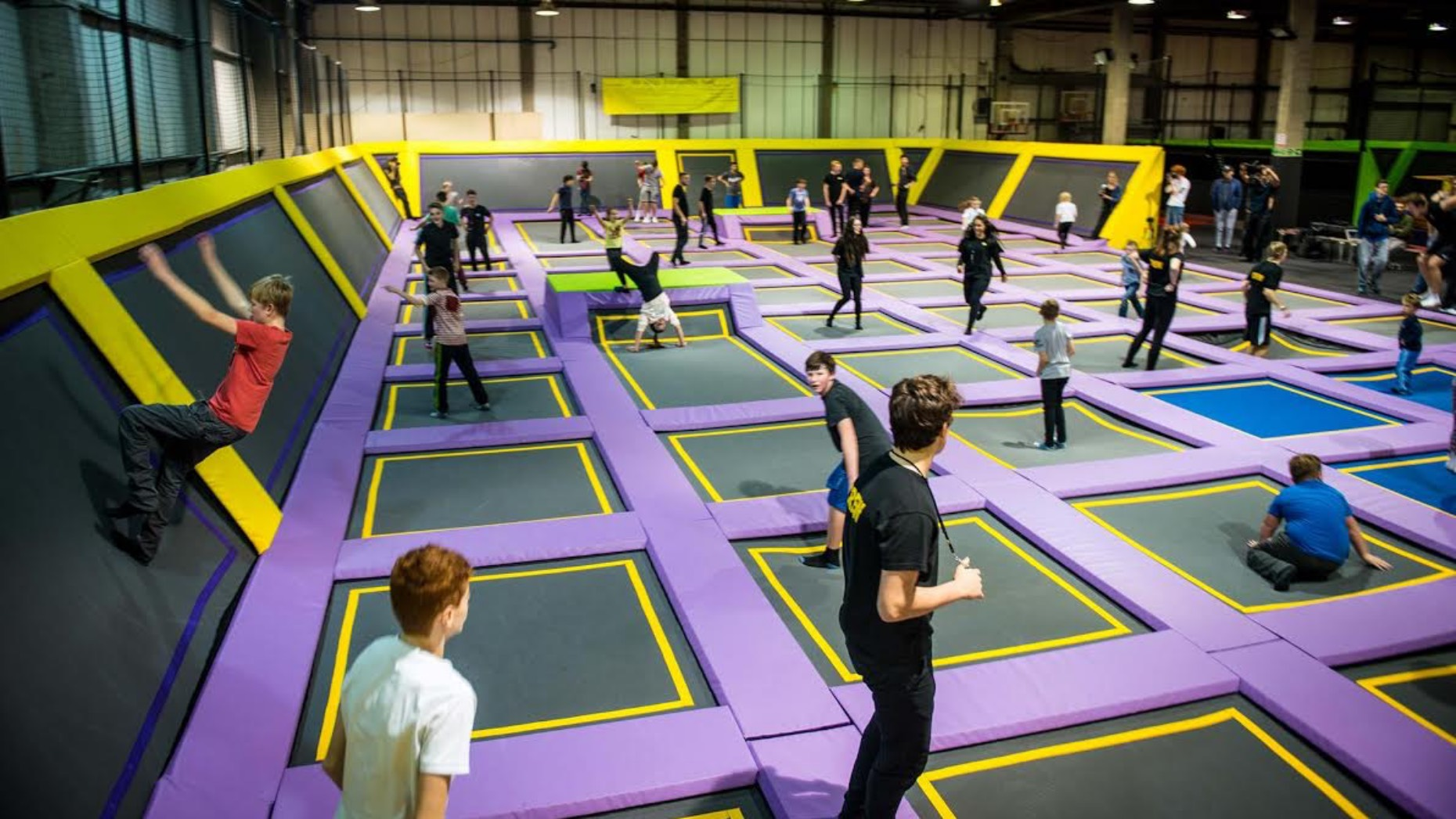 The site in Scunthorpe will be similar to the Doncaster trampoline park.