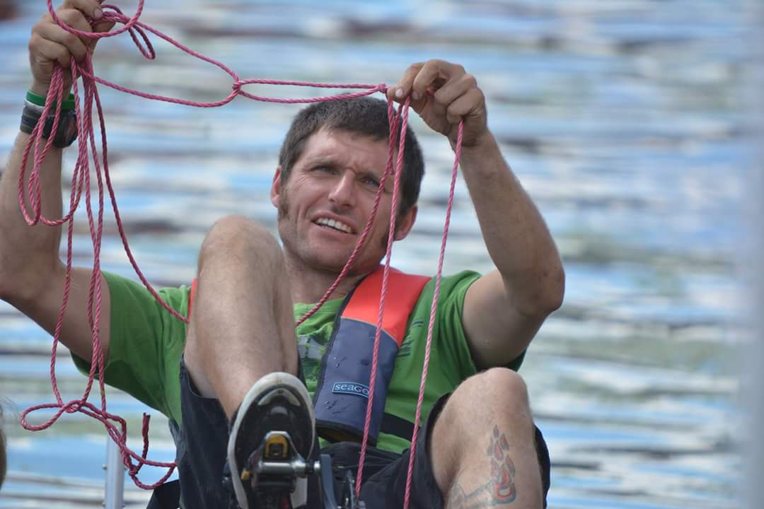 Guy Martin on Brayford Pool when he was preparing for his water speed record attempt. Photo: Tobias Thompson