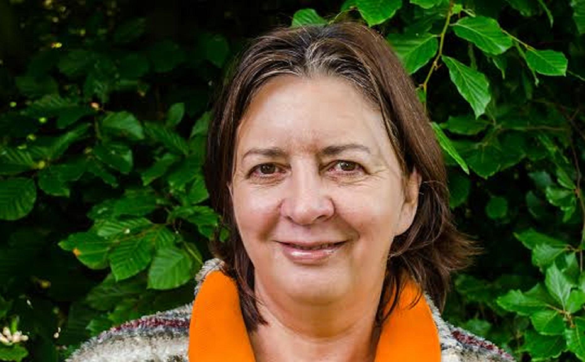 Competition winner Gillian Kennett