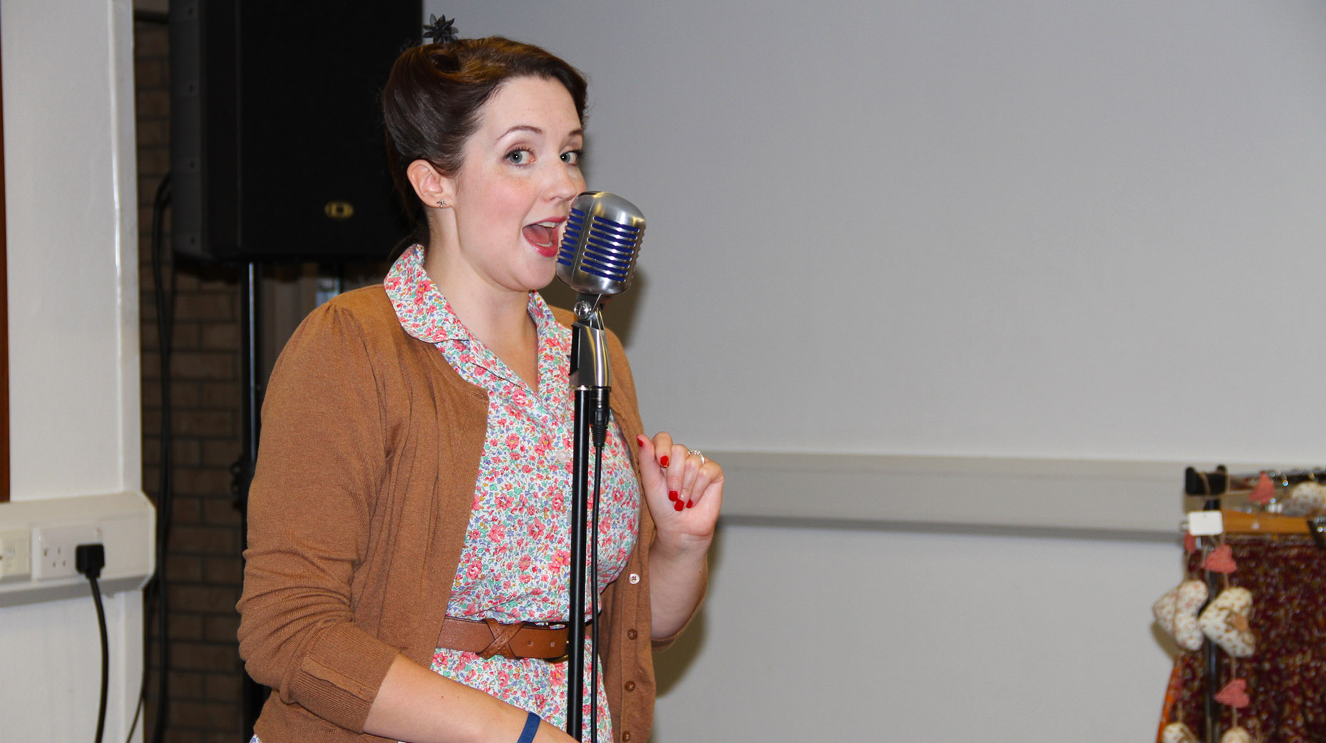 Heather-Maire will be performing at the festival alongside other 1940s-style acts.