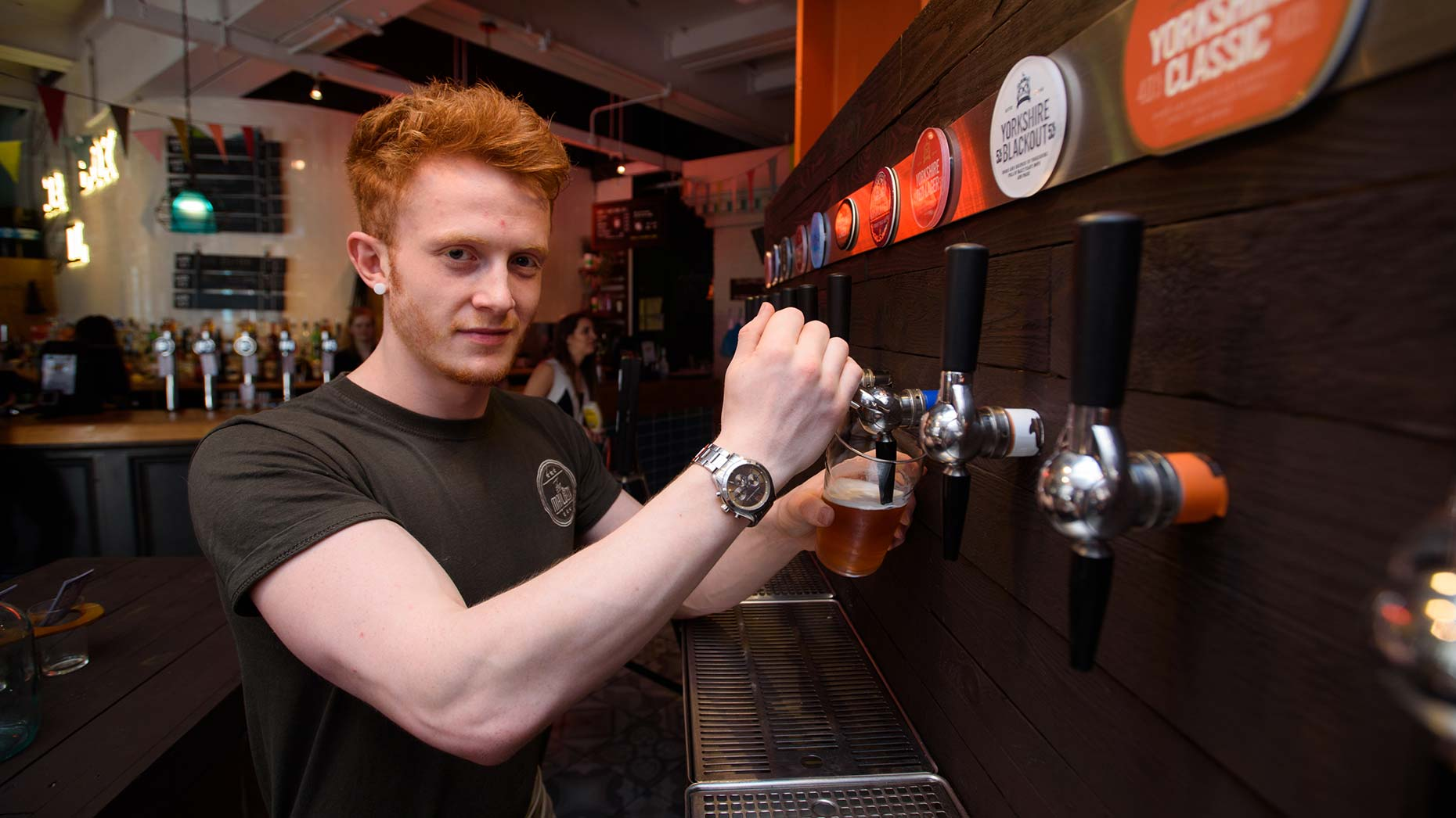 Fancy a crafty pint? Just what you needed with the hot weather. Photo: Steve Smailes for The Lincolnite