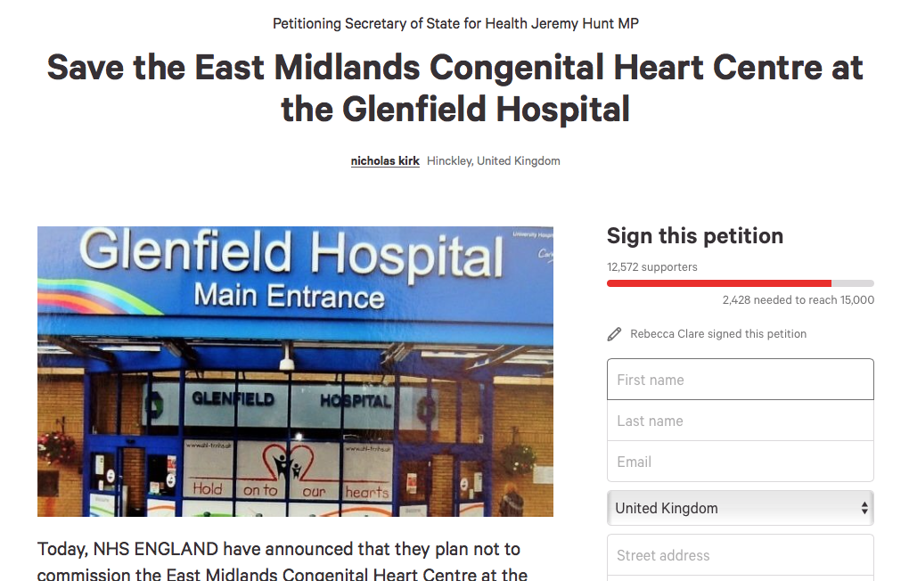 Thousands have signed the petition.