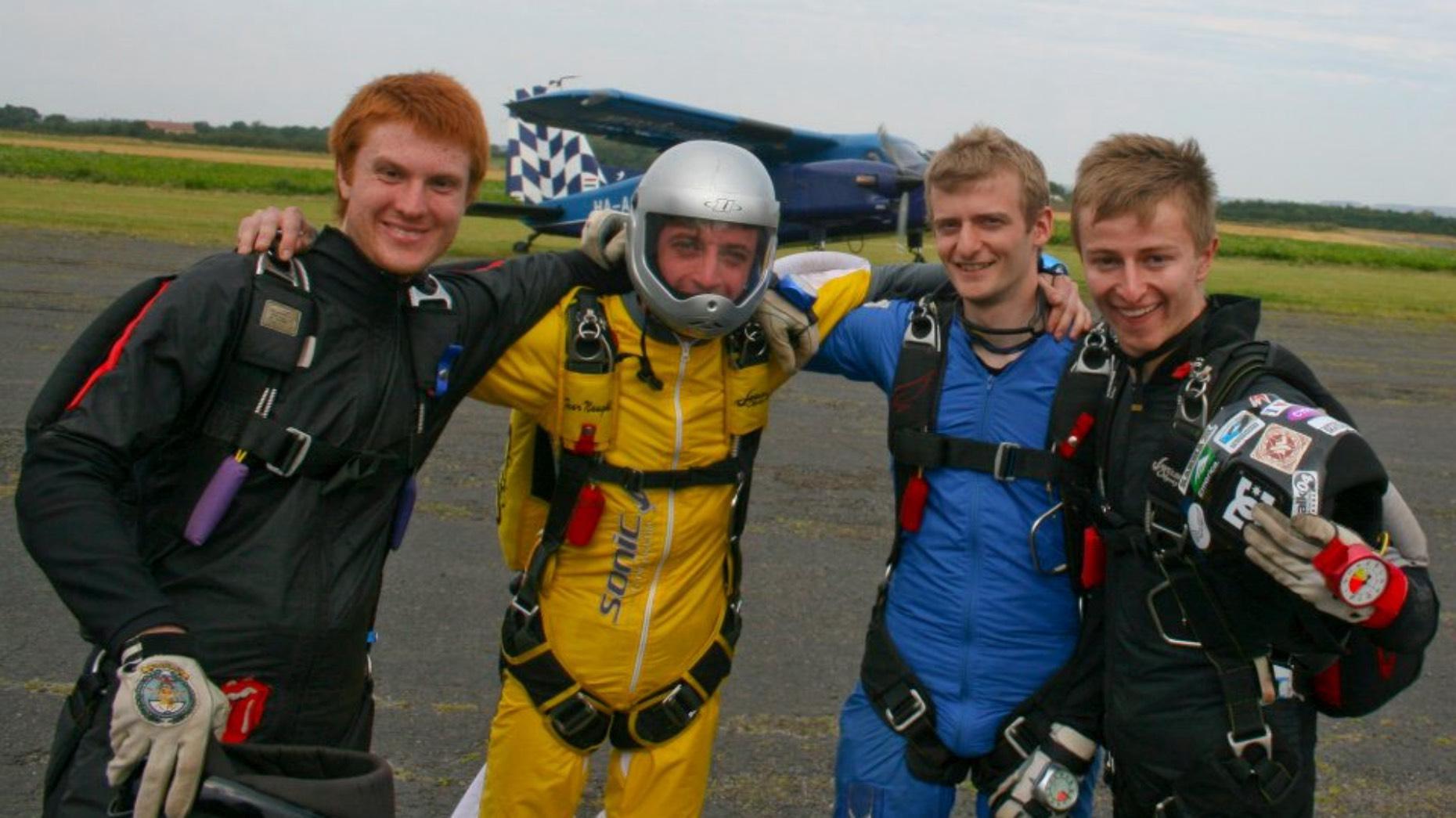 Photo: Skydiving Championships
