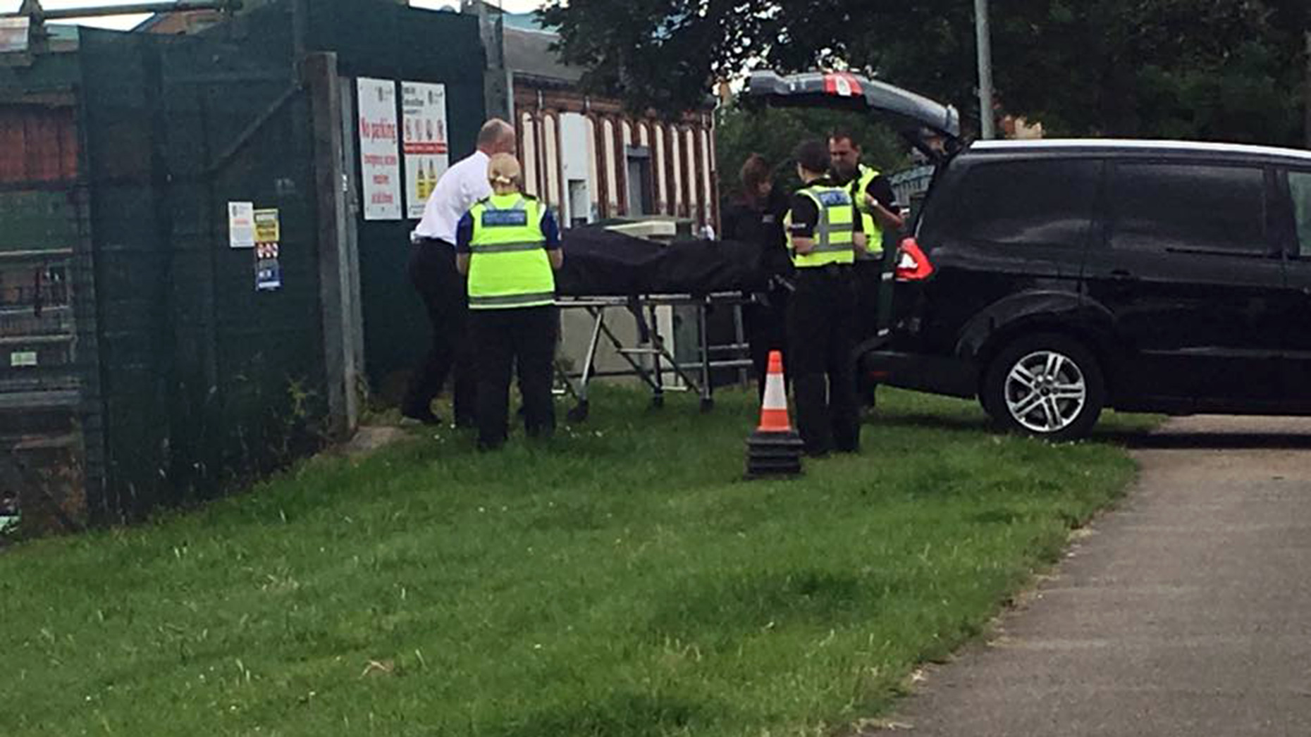 The body was recovered from River Witham in Lincoln. Photo: C A Sandford
