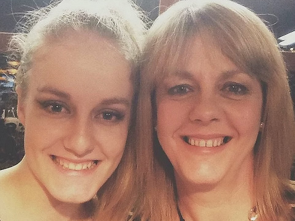 Mother and daughter Claire Hart, 50, and Charlotte Hart, 19 were shot in the chest and abdomen.