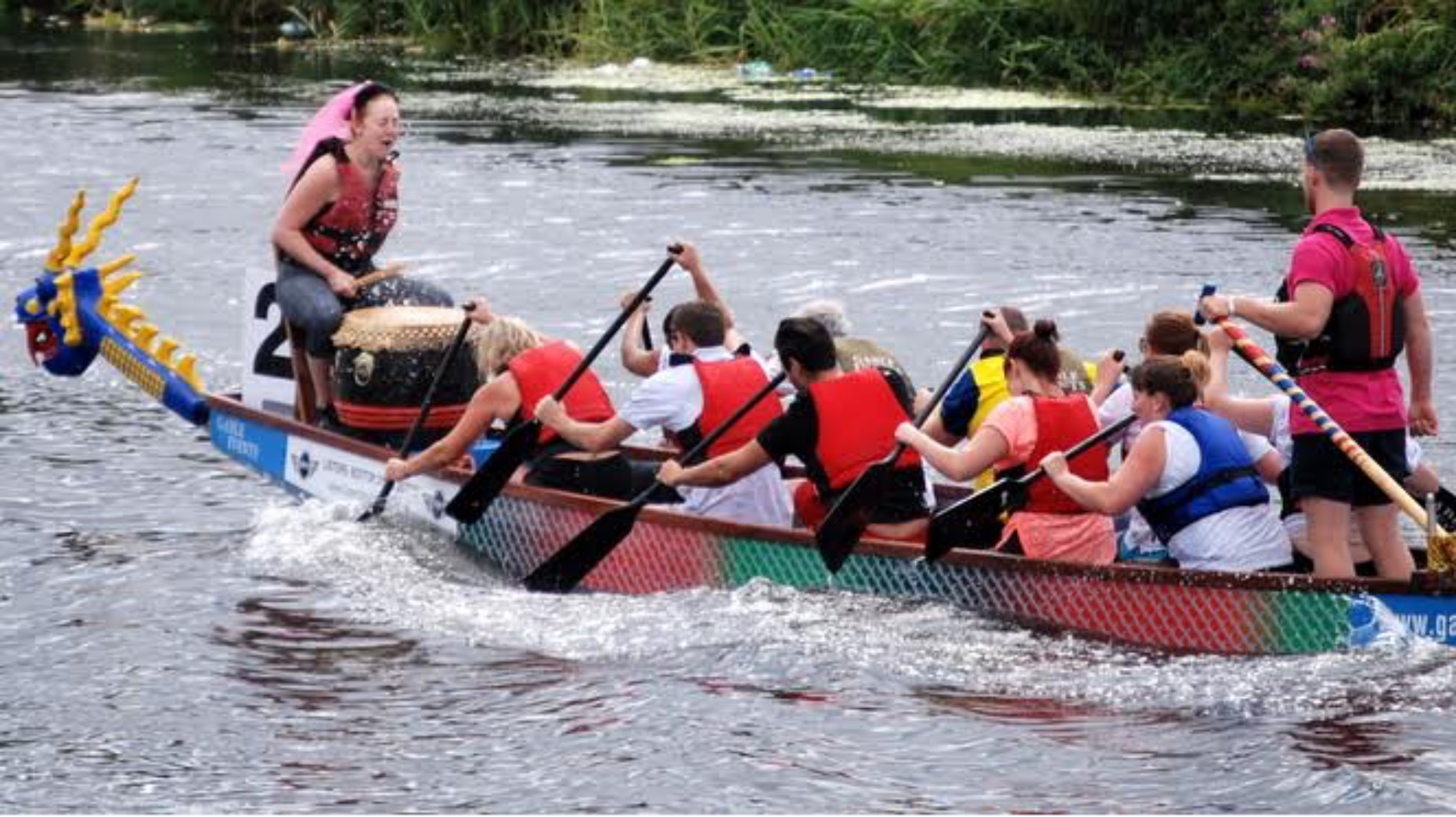 Dragon Boat Teams Fired Up For Brayford Race