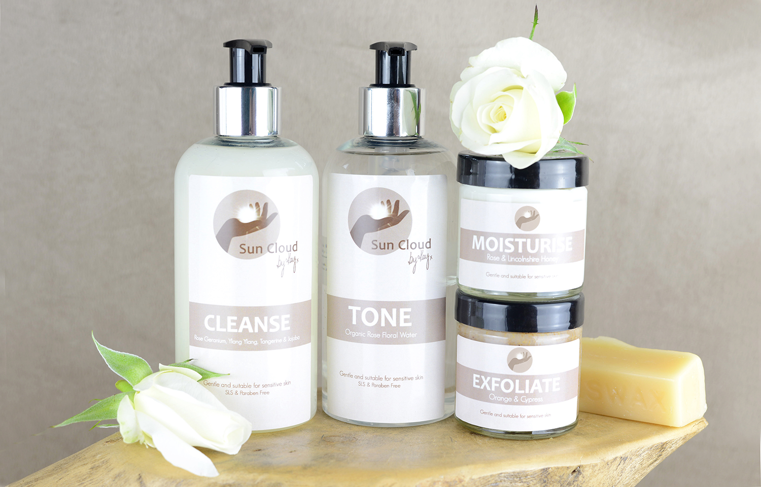 Kay Lawson has created her own range of hand and body products.