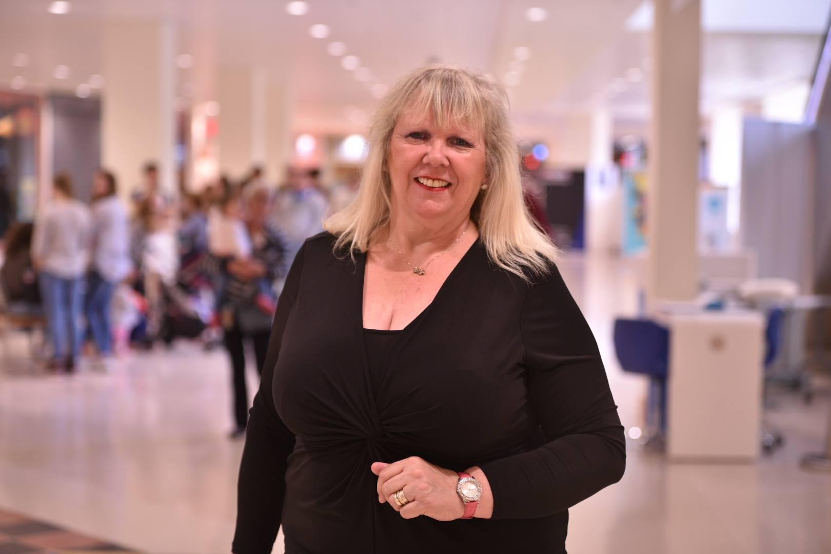 Singer Elaine Parker, 65.Photo: Steve Smailes for The Lincolnite