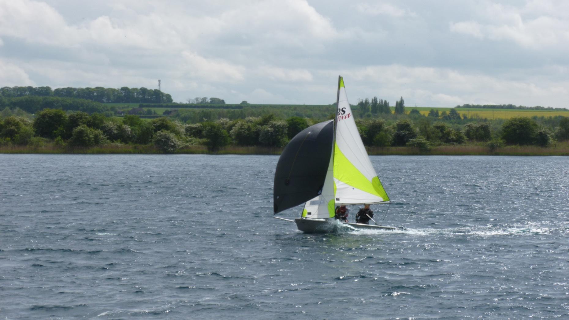 New junior sailing dinghy