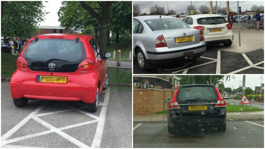 There are some pretty awful parkers in Lincoln!