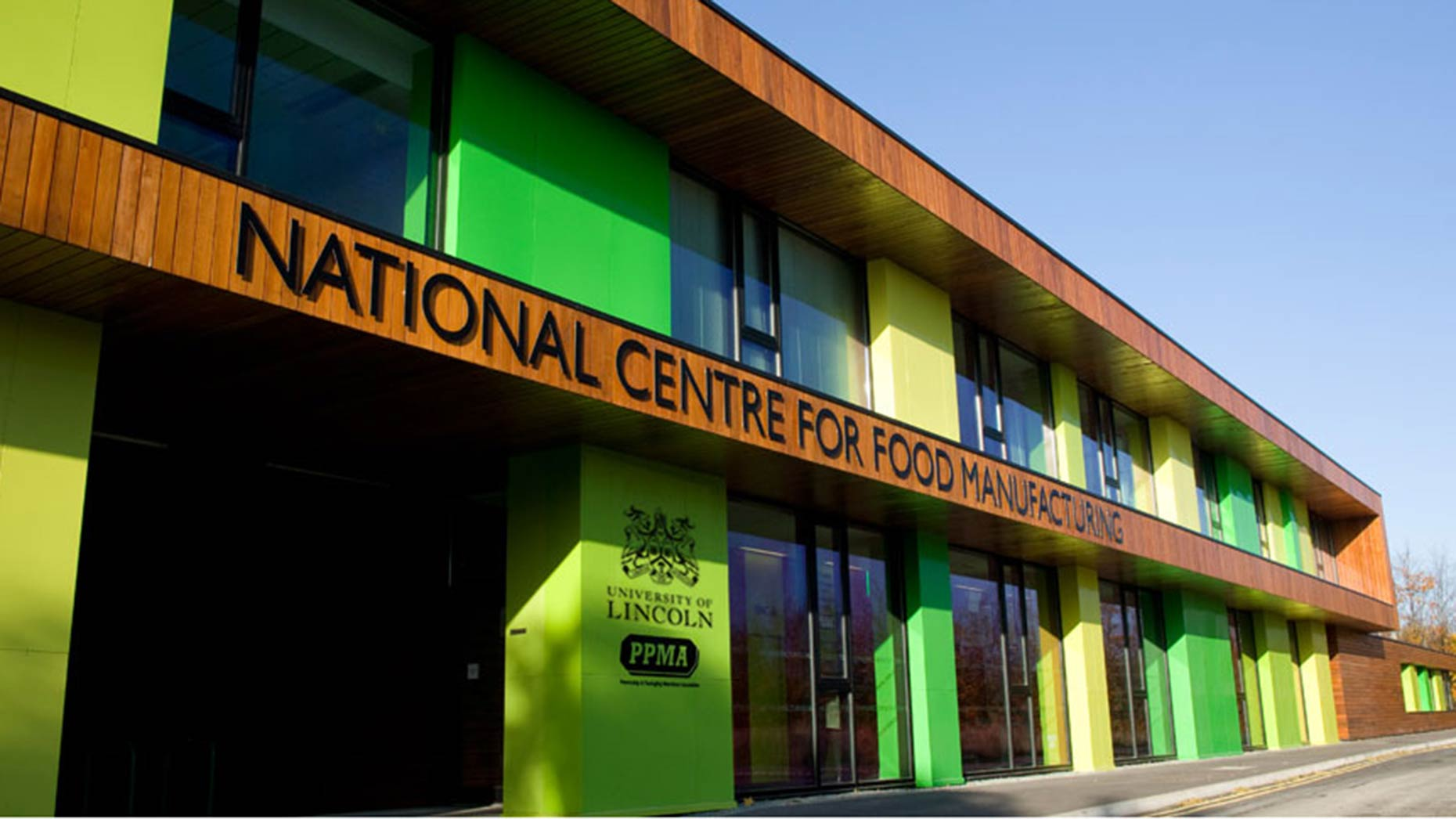 The University of Lincoln National Centre for Food Manufacturing in Holbeach. Photo: UoL