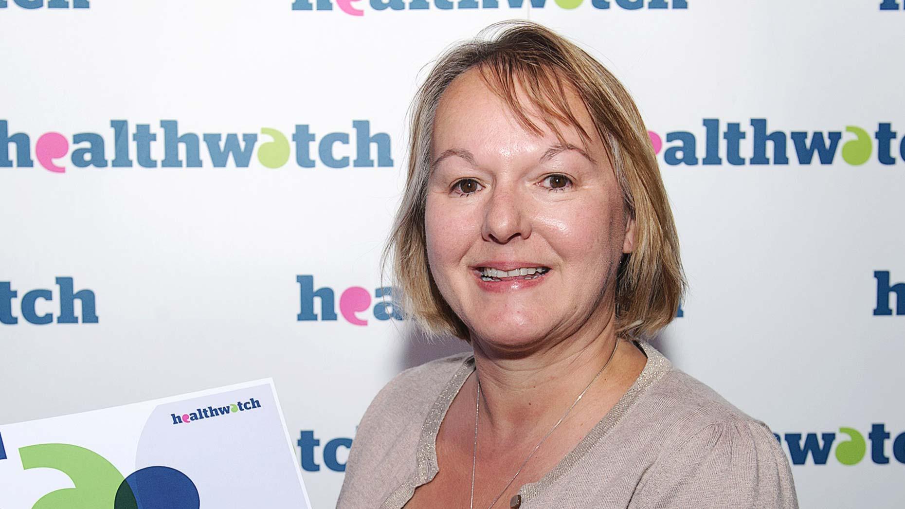 Sarah Fletcher, CEO of Healthwatch Lincolnshire