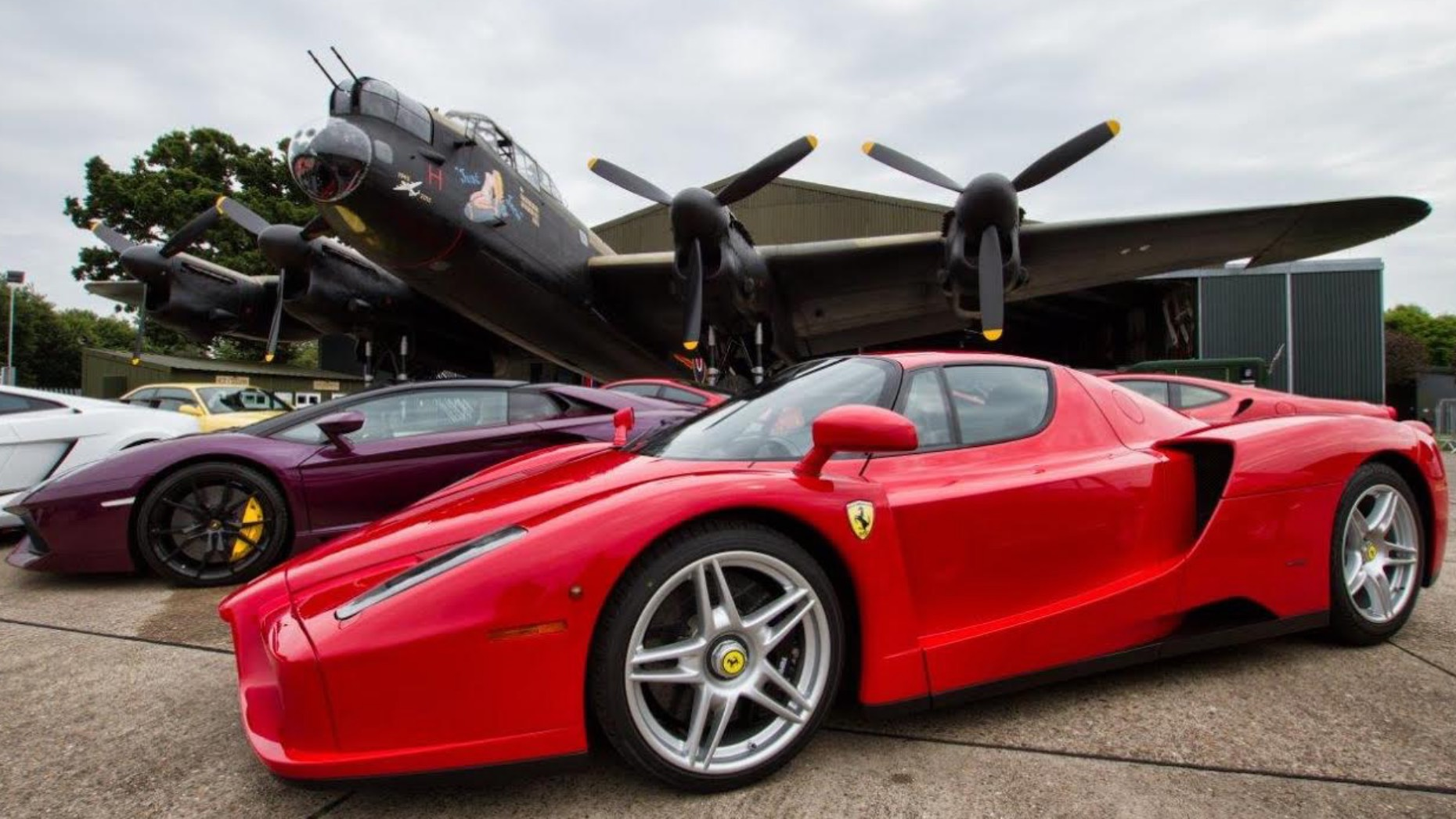 World-class cars including Ferrari, Bentley, Aston Martin and Porsche will be on display at the Props and Pistons Show