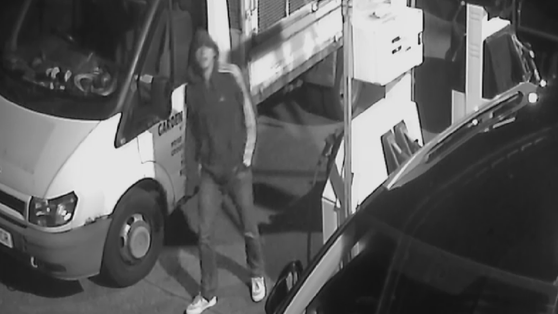 If you recognise this man please call 101.