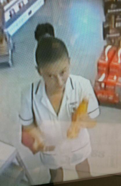 Do you recognise the woman pictured?