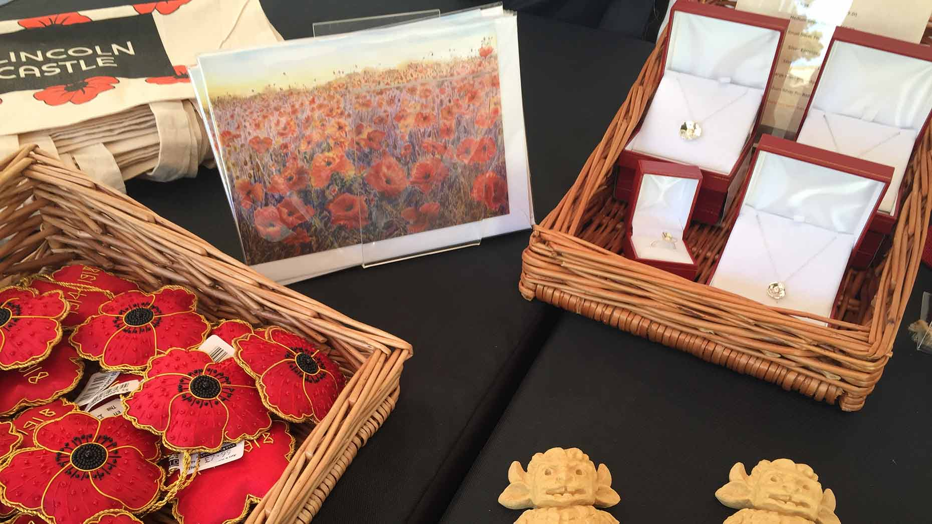 A wide selection of handmade, locally produced gifts are on offer at Lincoln Castle. Photo: Sophie Bee