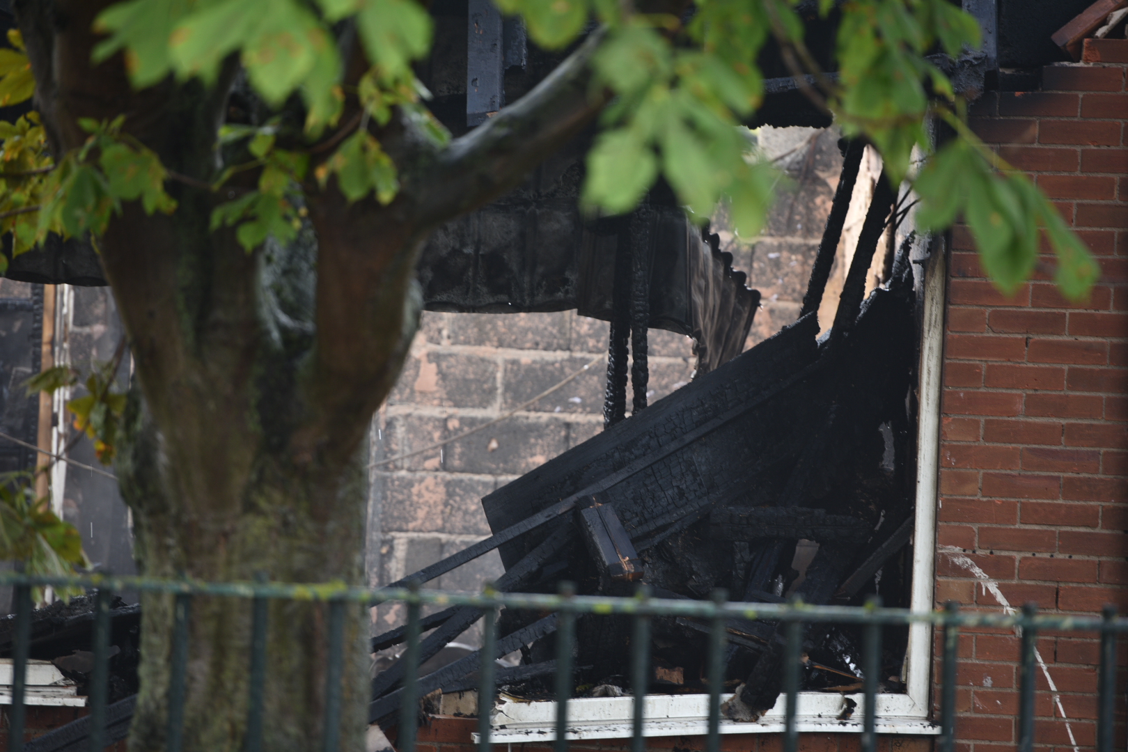 St Giles youth centre fire SS
