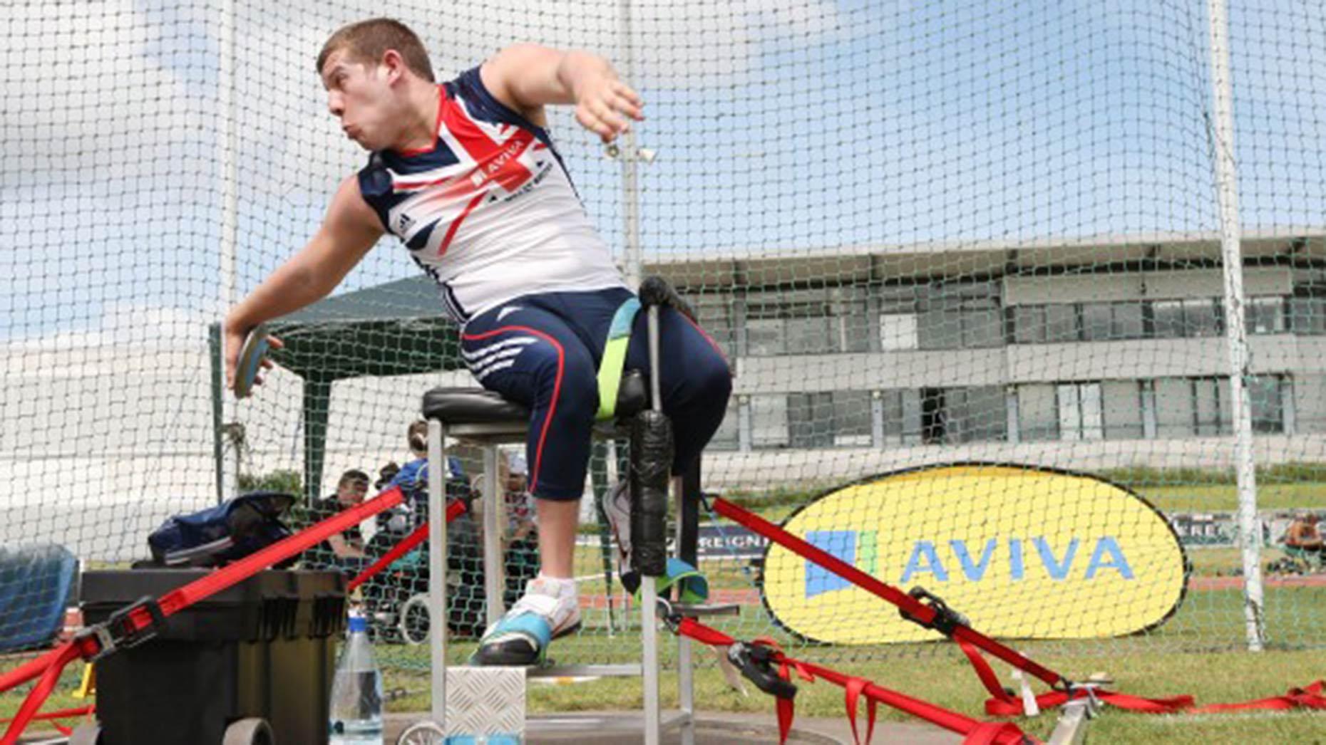 Kieran Tscherniawsky. Photo: Lincolnshire Sport