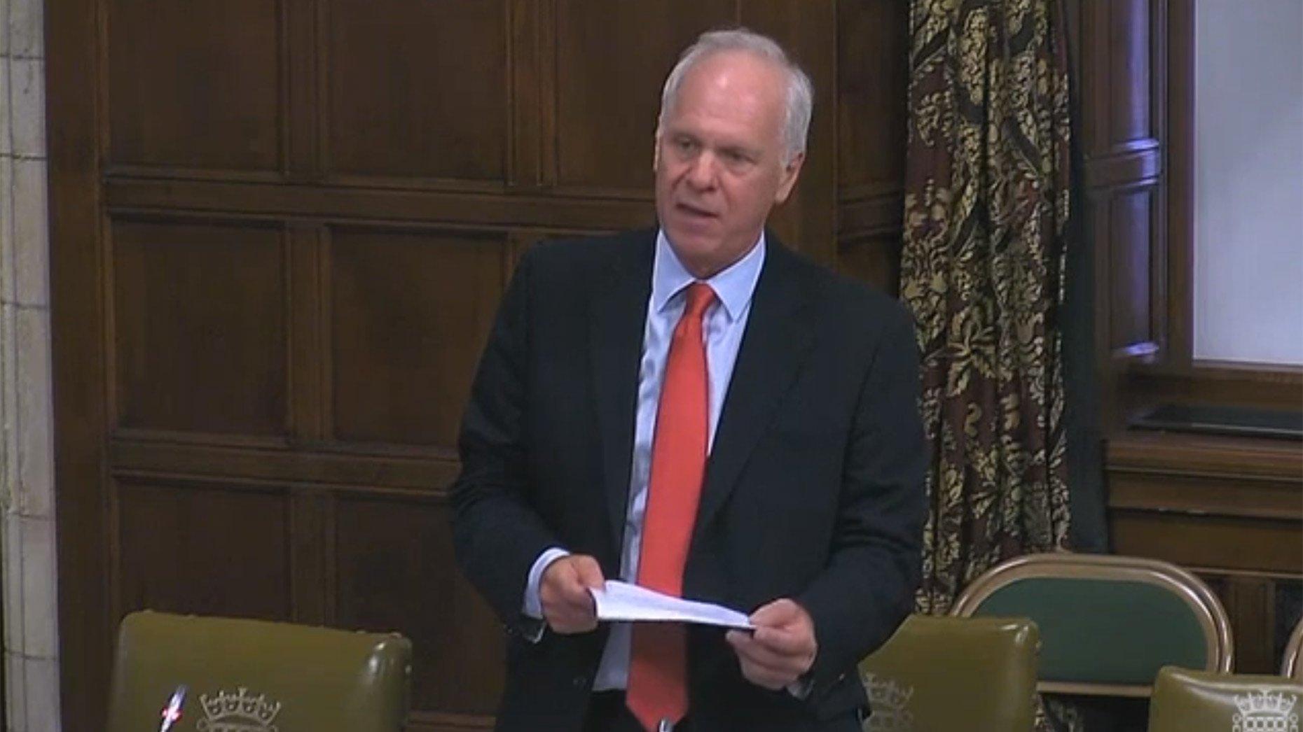 Scunthorpe MP Nic Dakin. Photo: Parliament TV