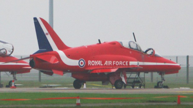 The planes were sealed off by investigators after the fatal incident which killed Flt Lft Cunningham. Photo: Steve Hill