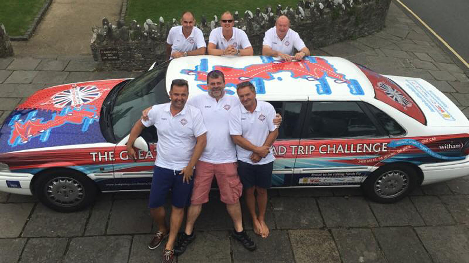 The group has raised almost £11,000 for six charities close to their hearts.