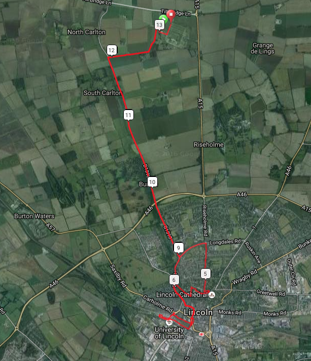 Click to view and interact with the route map.