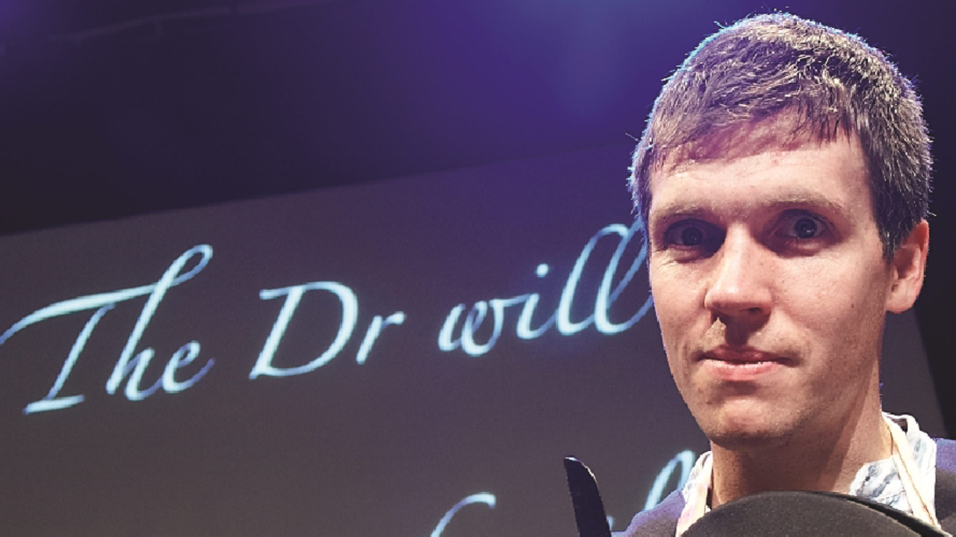 Simon Watt, also known as Dr Death. Photo: Gravity Fields