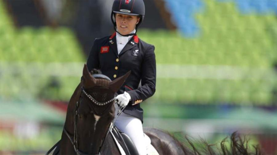Lincoln's Sophie Wells won gold on Wednesday, September 14. Photo: Reuters