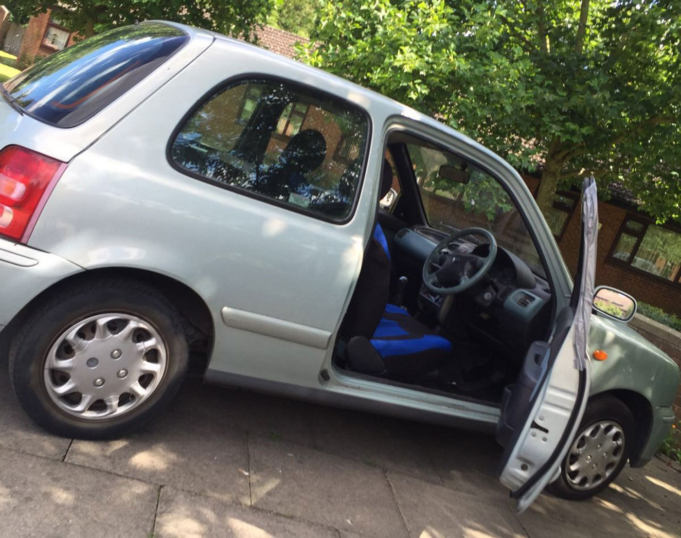 One owner left their car unlocked and unattended while they were in a house 15 minutes away.
