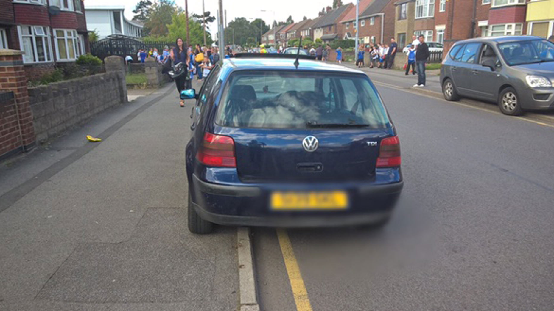 Another owner left their car unattended and running while they went to pick their child up from school.