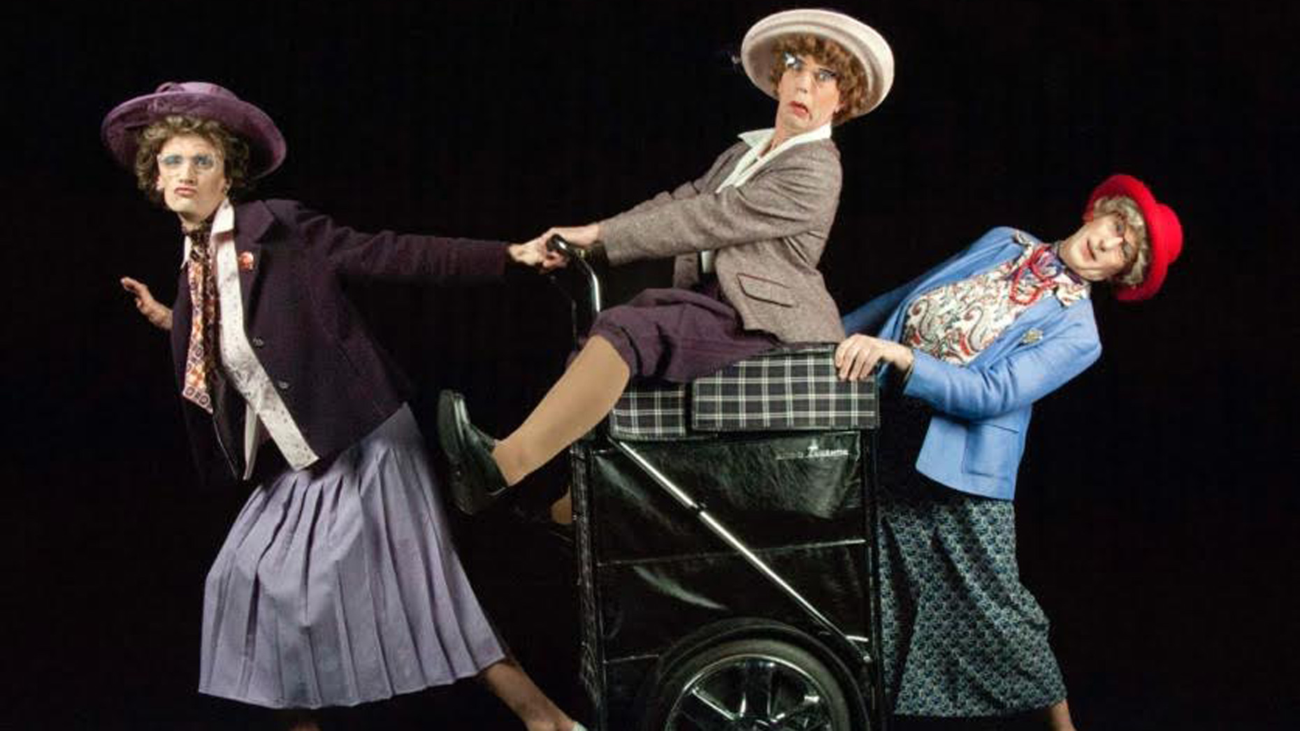 'Granny Turismo' will be performing at the festival in Caistor on Sunday