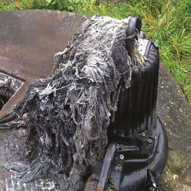 Sanitary items and wipes have been blamed for the blocked pipes in Lincoln.