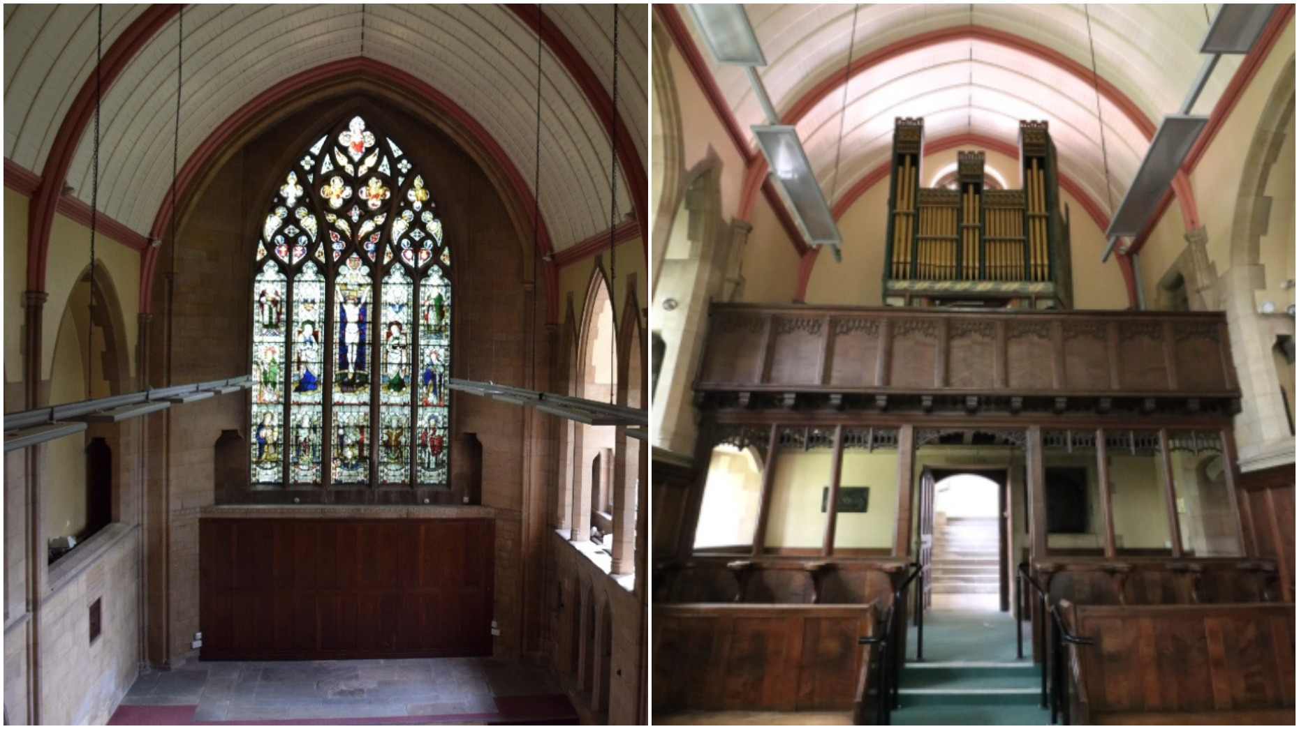The chapel would be turned into a single luxury property.