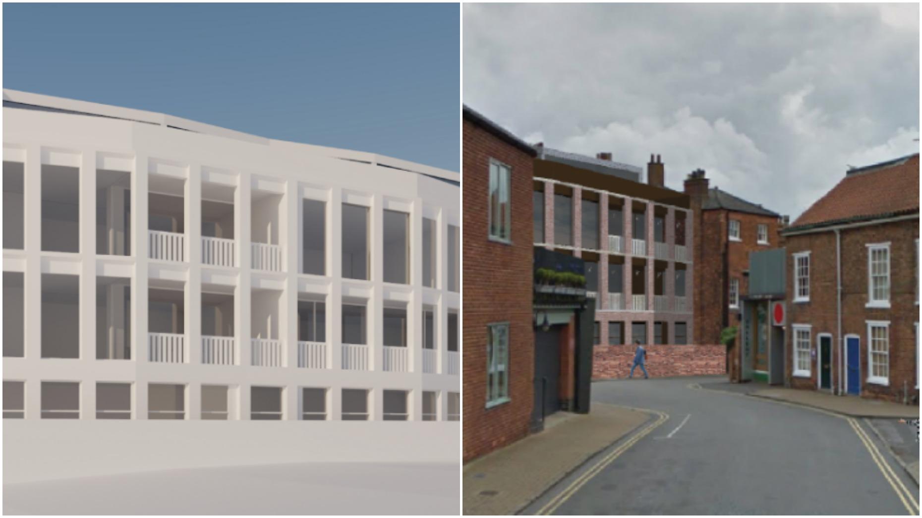 Designs for Chad Varah House: Jonathan Hendry Architects Ltd