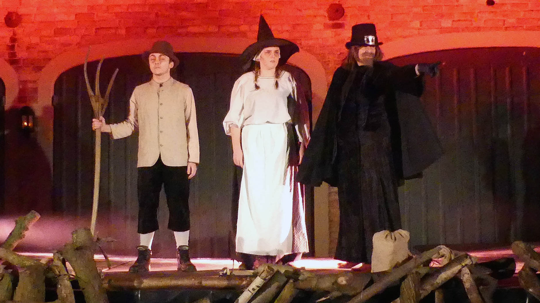 The Witch Trials at Doddington Hall saw hundreds of visitors.