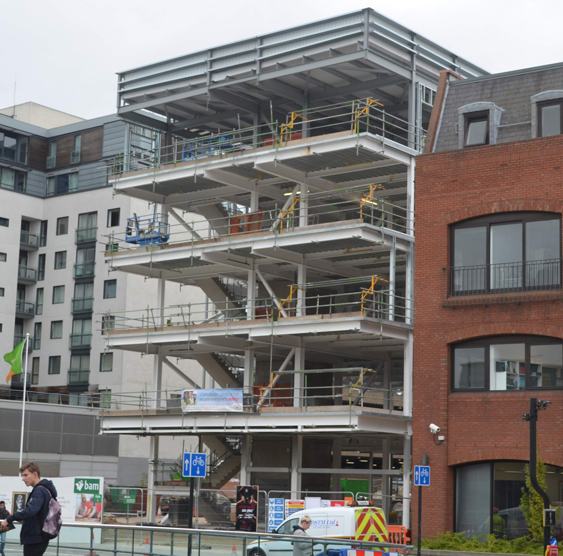 The Rise Of The Wharf Lincoln Brayford A Hive Of Construction
