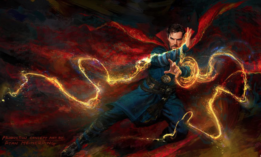 Benedict Cumberbatch in Doctor Strange. Photo by Marvel Studios.
