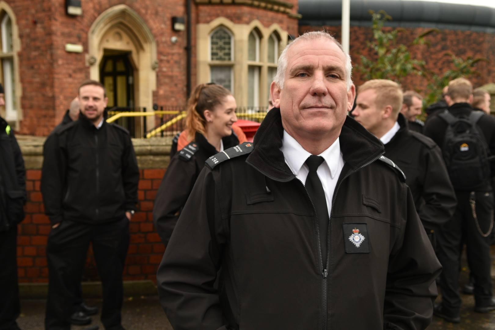 Frontline prison officer and regional POA spokesperson Paul Wray. Photo: Steve Smailes for The Lincolnite
