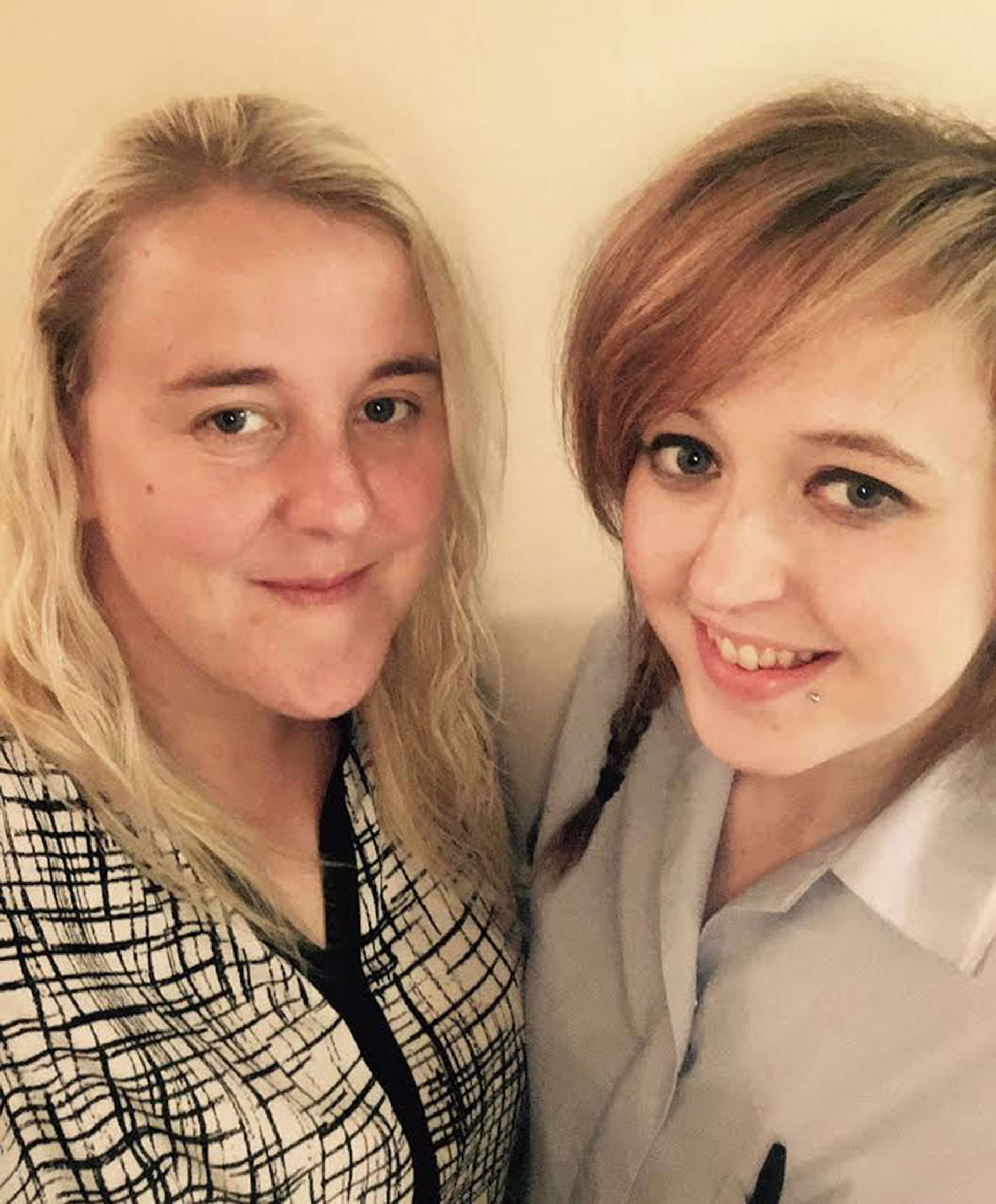 Gemma Bell (left) and Chelsea
