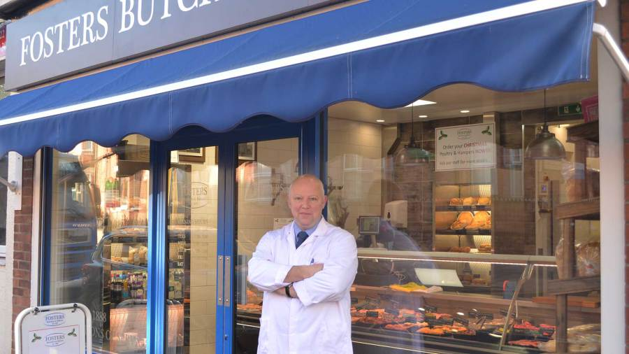 Mark Foster, Co-Owner of Foster's Butchers and Bakers. Photo: Sarah Harrison-Barker for Lincolnshire Business