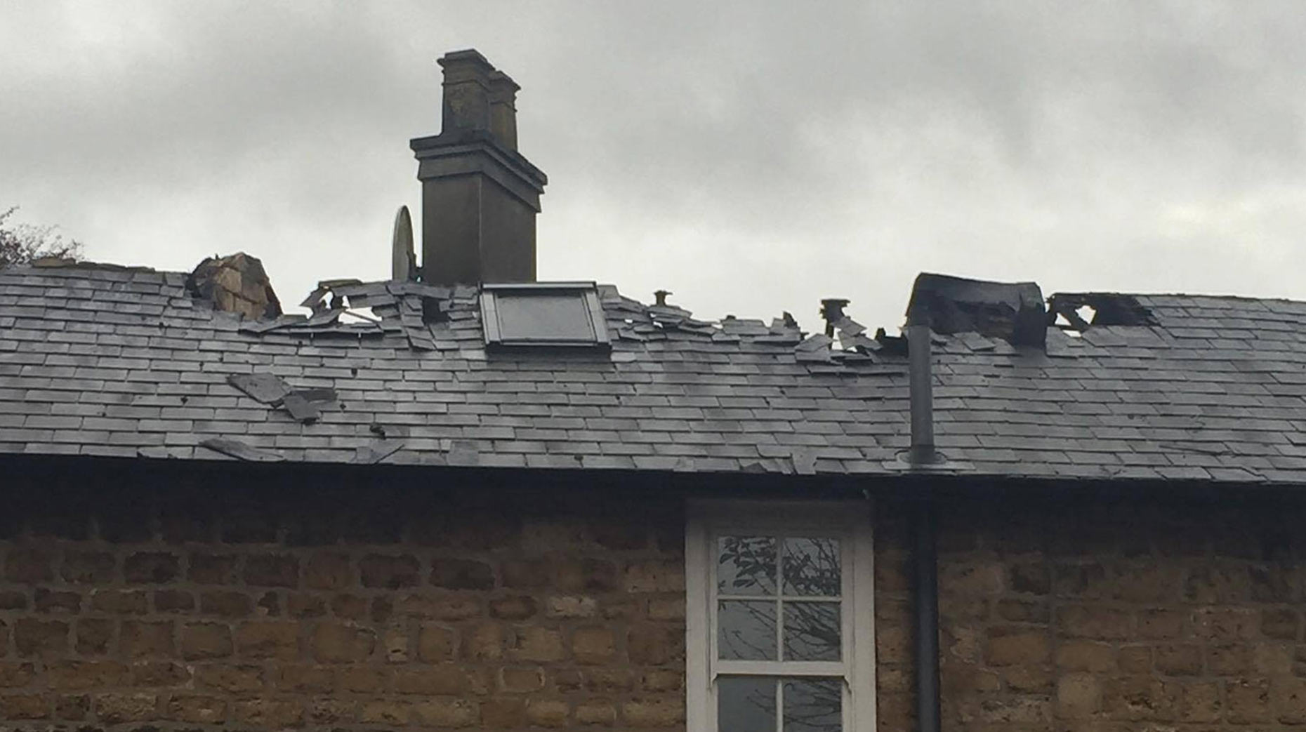 Damage was caused to around 60% of the property. Photo: Sarah Harrison-Barker