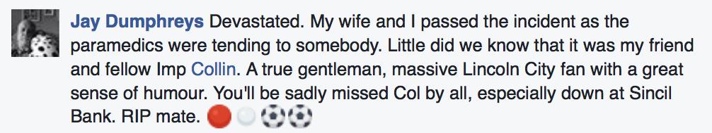 Tributes to Collin Morton