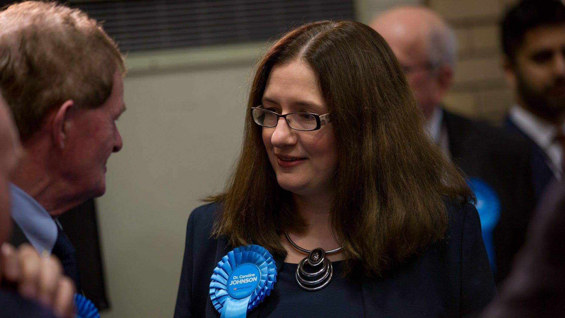 Sleaford and North Hykeham MP Caroline Johnson. Photo: Sean Strange for Lincolnshire Reporter