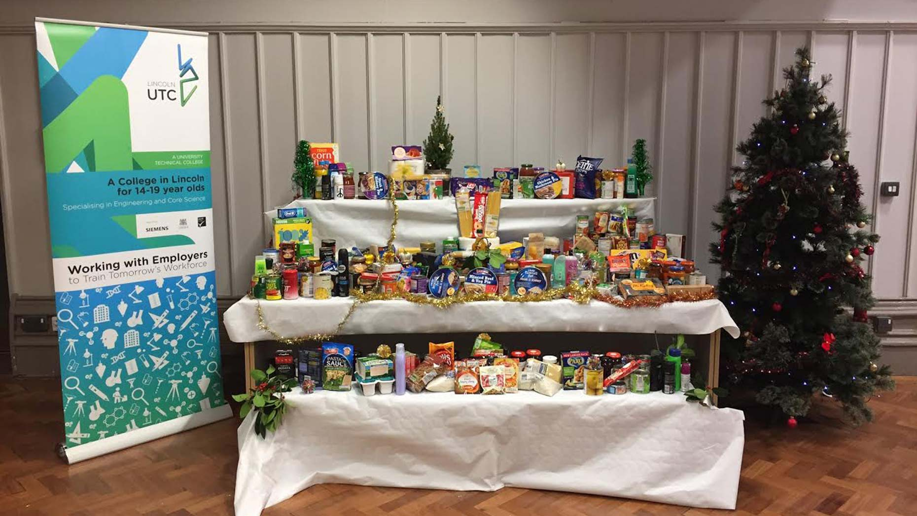 Over 150 items have been donated